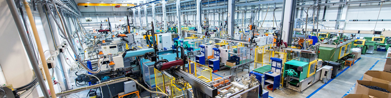 plastics machinery categories